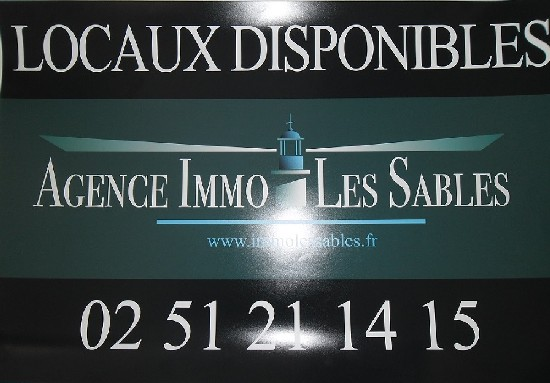 location local commercial LES SABLES D'OLONNE 2 pieces, 51m
